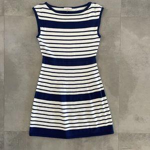Trina Turk Stripped Knit Dress